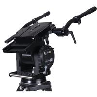 Image of Miller Skyline 90 Fluid Head with 15 Selectable Fluid Drag Positions and Auto Safety Lock, 165 lbs Capacity