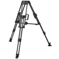 "Miller Heavy Duty ENG 2-Stage Carbon Fiber Tripod Legs with 100mm Bowl, Max Height 63.4"", Suppo Product image - 13"