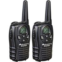 Midland Water Resistant 2-Way Radios (Pair) with 22 Channels, up to 18 Miles Range