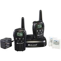 Midland 22 Channels 2 Way Radios With Charger, 24 Mile Range, 462.550-467.7125 MHz Frequency Band