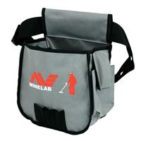 Image of Minelab Metal Detector Finds Pouch, Black & Gray