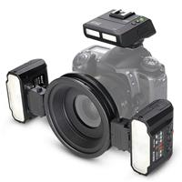 Image of Meike MK-MT24 II TTL Macro Ring Flash for Nikon with Transceiver