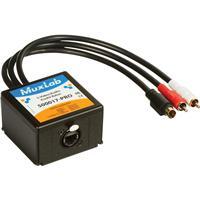 Image of Muxlab S-Video/Audio ProAV Balun Transmitter, 20Hz-20KHz Audio Bandwidth