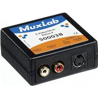 Image of Muxlab S-Video/Hi-Fi Balun, Female