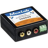 Image of Muxlab VideoEase Stereo AV/IR Pass-Thru Balun, Female