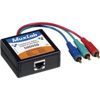 Image of Muxlab Component Video/Digital Audio Balun, Male