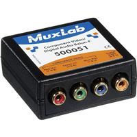 Image of Muxlab Component Video/Digital Audio Balun, Female