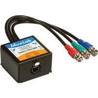 Image of Muxlab Component Video/Analog Audio ProAV Balun, BNC