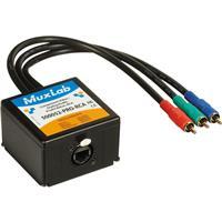 Image of Muxlab Component Video/Analog Audio ProAV Balun, RCA