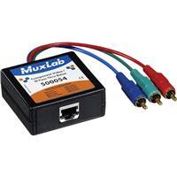 Image of Muxlab Component Video/IR-Pass-Thru Balun, Male