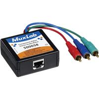 Image of Muxlab Component Video/Stereo Audio Balun, Male