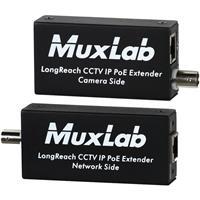 Image of Muxlab Longreach CCTV IP PoE Extender Kit, 600m