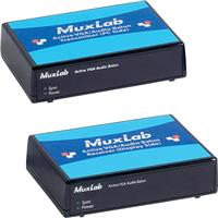 Image of Muxlab Active VGA/Audio Balun Kit, Includes Transmitter, Receiver