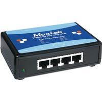 Image of Muxlab VGA 1x4 Distribution Hub, 4 Ports, 220-240V