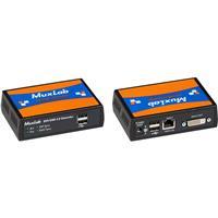 Compare Prices Of  Muxlab DVI/USB 2.0 Over HDBaseT Extender Kit