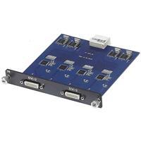 Image of Muxlab 4 Channel DVI Input Card for Multimedia 16 x 16 Matrix Switch