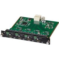 Image of Muxlab 4 Channel HDMI/RS232 4K UHD Input Card for Multimedia 16x16 Matrix Switch