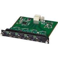 Image of Muxlab 4 Channel HDMI/RS232 4K UHD Output Card for Multimedia 16x16 Matrix Switch
