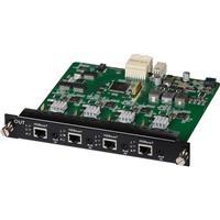 Image of Muxlab 4 Channel HDBT PoE 4K UHD Output Card for Multimedia 16x16 Matrix Switch