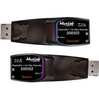Image of Muxlab DisplayPort 1.2A Fiber Extender Kit