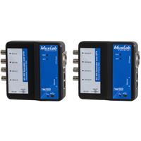 Image of Muxlab 6G-SDI Extender Over UTP Kit with Ethernet