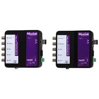 Compare Prices Of  Muxlab 6G-SDI Extender Over Fiber Optic Kit with Return Channel, Single-Mode, 33000'/6.2 Miles