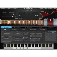 Image of MusicLab RealLPC 4 Virtual Guitar Instrument Software, Electronic Download