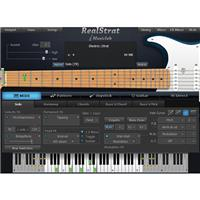 Image of MusicLab RealStrat 4 Virtual Instrument Software, Electronic Download