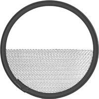 "Image of Mole-Richardson Half Single Moledura Scrim for Big-Eye Tener, Big-Mo, HMI 12K, 18K Fresnels, 29"" Diameter, Stainless Steel"