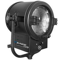 "Image of Mole-Richardson 400W Studio JuniorLED Fresnel Light, Daylight (Non-DMX), 10"" Borosilicate Glass, 5600K Color Temperature"