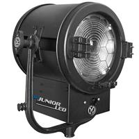 """Image of Mole-Richardson 400W Studio JuniorLED 10"""" Daylight Fresnel-Grid with DMX, 5600K Color Temperature, Passive-forced Air Cooling"""