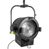 """Image of Mole-Richardson 400W Studio JuniorLED 10"""" Pole-Operated Daylight Fresnel, 5600K Color Temperature, Passive-forced Air Cooling"""