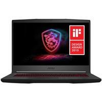 "Image of MSI GF65 THIN 9SD-837 15.6"" Full HD 144Hz Gaming Notebook Computer, Intel Core i7-9750H 2.6GHz, 8GB RAM, 512GB SSD, NVIDIA GeForce GTX 1660 Ti 6GB, Windows 10 Home, Free Upgrade to Windows 11"