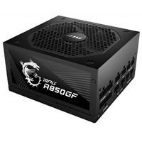 Image of MSI MPG A850GF 850W 80+ Gold Certified Modular ATX Power Supply Unit