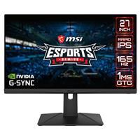 """Image of MSI Optix G273QF 27"""" 16:9 WQHD 165Hz Rapid IPS eSports Gaming Monitor"""