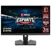 """Image of MSI MAG274QRF 27"""" 16:9 WQHD 165Hz HDR Ready LED Gaming Monitor with G-Sync"""