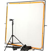 Matthews 6x6' Light Duty Butterfly Kit with Frame, Stands, Two Textiles, & Storage Bag. Product picture - 2116