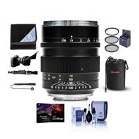 Image of Mitakon Zhongyi Speedmaster 50mm f/0.95 III Lens for Canon RF Mirrorless Camera Mount Manual Focus - Bundle With Lens Pouch, 67mm Filter Kit, Flex Lens Shade, Lens Wrap, Pro Software Package, And More