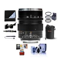 Image of Mitakon Zhongyi Speedmaster 50mm f/0.95 III Lens for Canon RF Mirrorless Camera Mount Manual Focus - Bundle With Lens Pouch, 67mm Filter Kit, Flex Lens Shade, Lens Wrap, Mac Software Package, And More