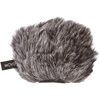 Image of Movo Photo WS-G9 Furry Outdoor Microphone Windscreen for Portable Digital Recorders, Fits The Zoom H4n