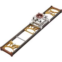 Image of MYT Works 5' Medium Glide Camera Slider with 75mm Bowl Hi-Hat Assembly, 80lbs Capacity