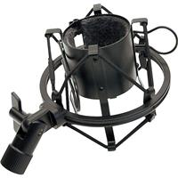 Image of MXL High-Isolation Microphone Shock Mount for V67 Series, V69, 2006 & Mics with a 47mm Diameter, Black
