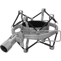 Image of MXL High-Isolation Microphone Shock Mount for 770/990 & Mics with a 60mm Diameter, Silver