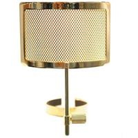Image of MXL PF-004-G Gold Metal Mesh Pop Filter for Genesis Microphones