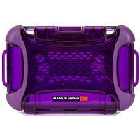 Image of Nanuk Nano Series 330 Ultra Resistant Polycarbonate Waterproof Protective Case, Purple
