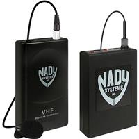 Image of Nady 351 Video Wireless Lavalier System, with 351VR Receiver, WLT 15 Lavalier Transmitter with WLT Lavalier Omni Condenser Mic & Audio Cable