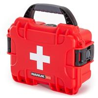 Compare Prices Of  Nanuk Outdoor Series 903 Waterproof First Aid Case, Red