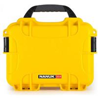 Compare Prices Of  Nanuk Small Series 904 Lightweight NK-7 Resin Waterproof Protective Case for Mirrorless Camera or 2-Way Radio, Orange