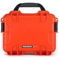 Compare Prices Of  Nanuk Small Series 904 Lightweight NK-7 Resin Waterproof Protective Case for Mirrorless Camera or 2-Way Radio, Yellow