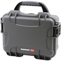 Image of Nanuk Small Series 904 Lightweight NK-7 Resin Waterproof Protective Case for Mirrorless Camera or 2-Way Radio, Graphite